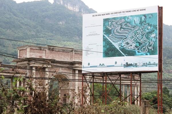 Tận mục dự án tiền tỷ bỏ hoang ở Hòa Bình - ảnh 1