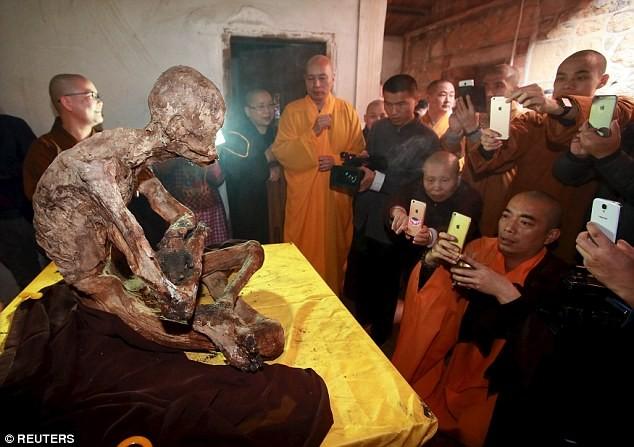 Công bố xác ướp của 'Phật sống' 94 tuổi tại Trung Quốc - ảnh 1
