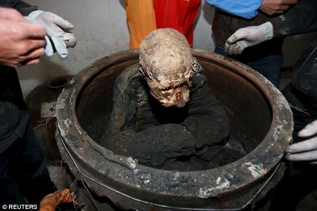 Công bố xác ướp của 'Phật sống' 94 tuổi tại Trung Quốc - ảnh 2