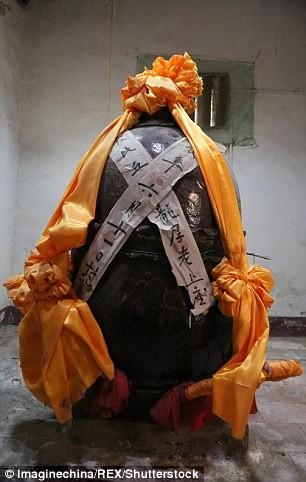 Công bố xác ướp của 'Phật sống' 94 tuổi tại Trung Quốc - ảnh 4
