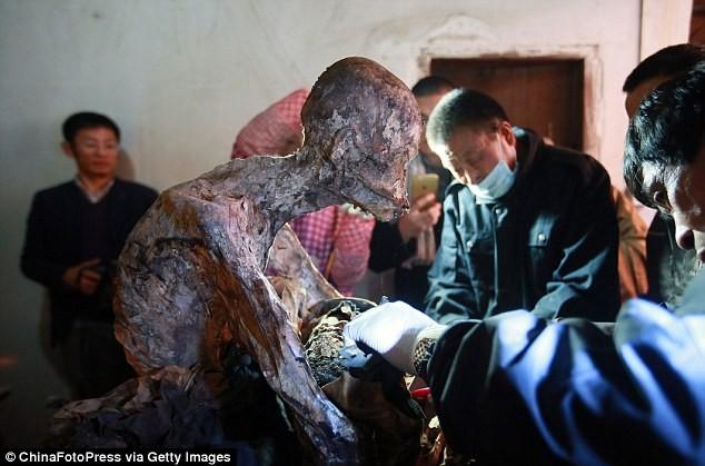 Công bố xác ướp của 'Phật sống' 94 tuổi tại Trung Quốc - ảnh 7