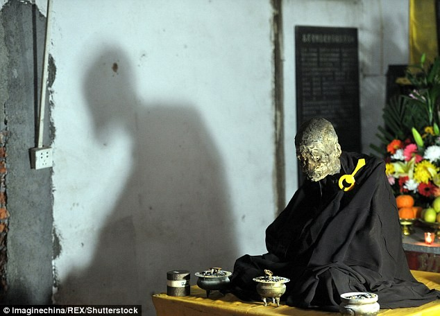 Công bố xác ướp của 'Phật sống' 94 tuổi tại Trung Quốc - ảnh 8