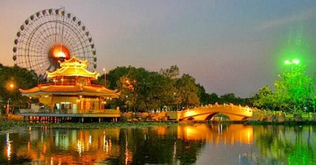 Sacom chi 340 tỷ mua cổ phần Công viên nước Đầm Sen - ảnh 1
