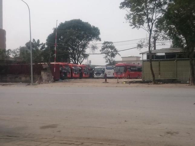 Nhà xe Sao Việt, Quân Trung biến đất dự án thành bến xe chui? - ảnh 1