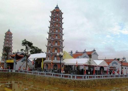 Quảng Bình: Phục dựng thành công ngôi chùa cổ hơn 700 năm tuổi - ảnh 1
