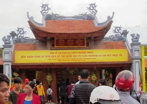 Quảng Bình: Phục dựng thành công ngôi chùa cổ hơn 700 năm tuổi - ảnh 2
