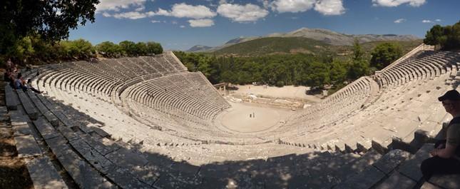 Kỹ thuật xây dựng bậc nhất của di chỉ khảo cổ Epidaurus - ảnh 2