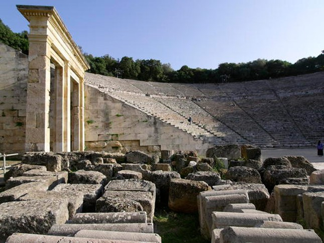 Kỹ thuật xây dựng bậc nhất của di chỉ khảo cổ Epidaurus - ảnh 3