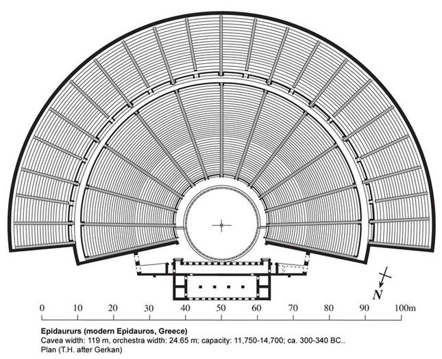 Kỹ thuật xây dựng bậc nhất của di chỉ khảo cổ Epidaurus - ảnh 5