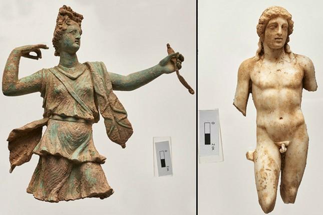 Khai quật tượng thần Hi Lạp từ thời La Mã ở đảo Crete - ảnh 1