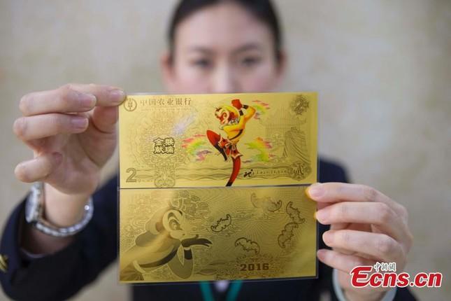 Hình ảnh Tôn Ngộ Không được in lên tiền Trung Quốc  - ảnh 1