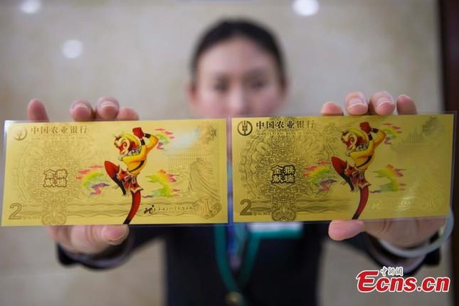 Hình ảnh Tôn Ngộ Không được in lên tiền Trung Quốc  - ảnh 4