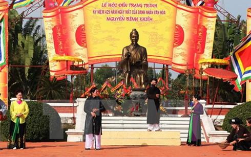 Đền Trạng Trình được trao bằng xếp hạng Di tích quốc gia đặc biệt - ảnh 1