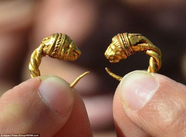"""Tìm thấy kho báu """"toàn vàng"""" của người Thrace tại Bulgaria - ảnh 2"""