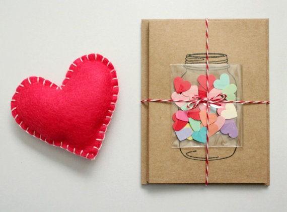 Hướng dẫn cách làm thiệp Valentine 'trái tim trong lọ thủy tinh' - ảnh 5