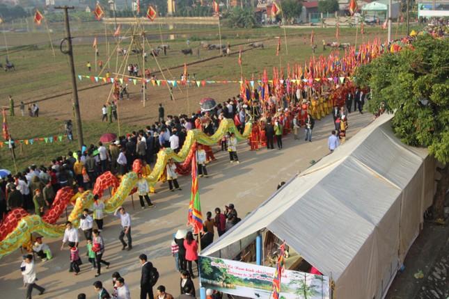Hà Nam: Nô nức xem 'vua' cày ruộng đầu năm - ảnh 2