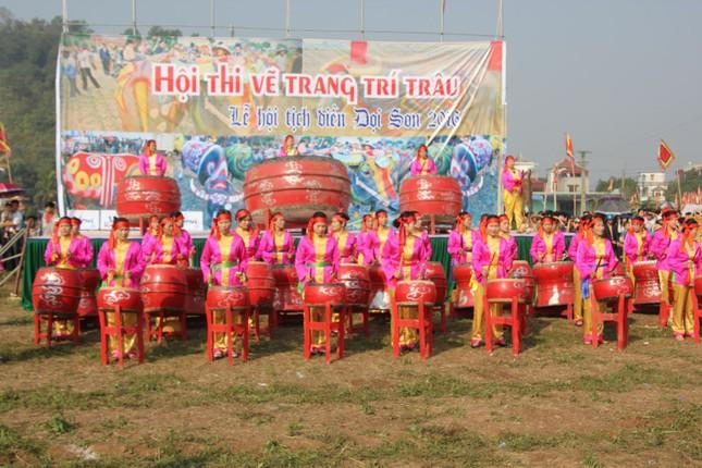 Hà Nam: Nô nức xem 'vua' cày ruộng đầu năm - ảnh 5