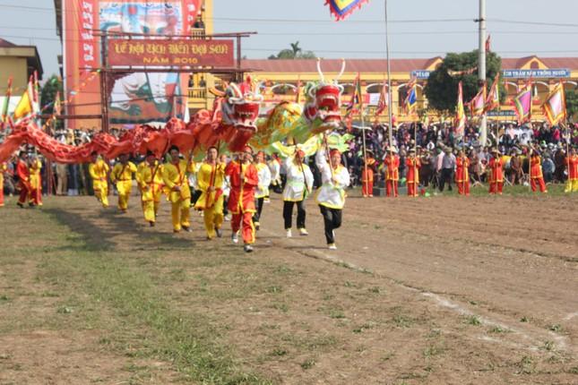 Hà Nam: Nô nức xem 'vua' cày ruộng đầu năm - ảnh 7