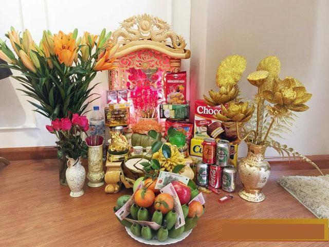 Những vật dụng PHẢI CÓ trên bàn thờ Thần Tài, Ông Địa - ảnh 1