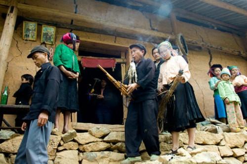 Tục cúng ma khô của người Mông ở Đồng Văn - ảnh 3