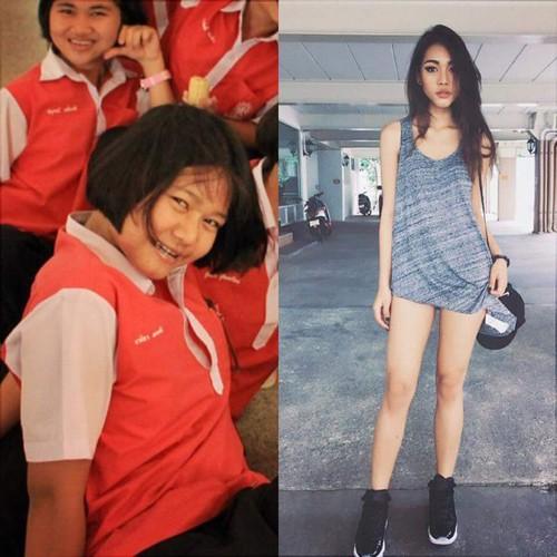Cuộc lột xác ngoạn mục của cô gái Thái khiến dân mạng ngỡ ngàng - ảnh 1