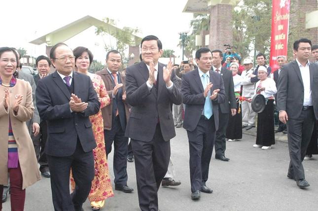 Chủ tịch nước tham dự ngày hội Sắc Xuân trên mọi miền Tổ quốc - ảnh 1