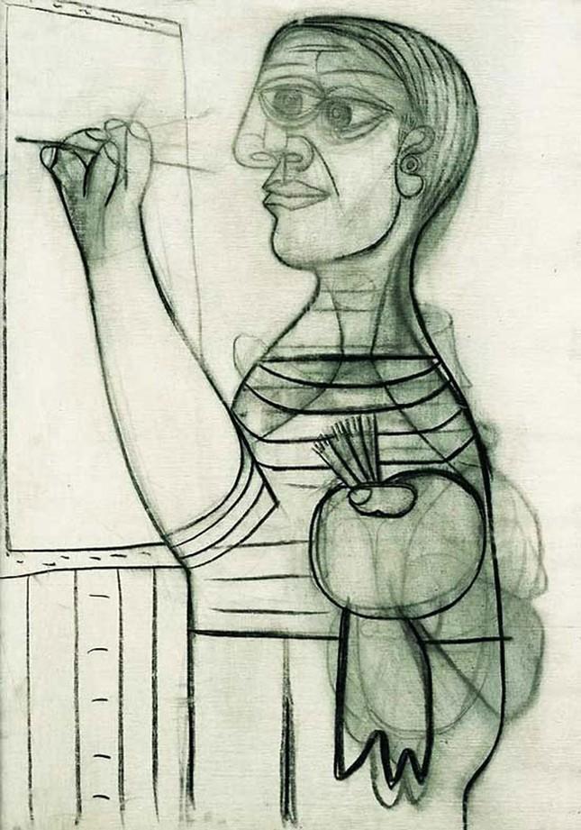 Chân dung tự họa của thiên tài Picasso - ảnh 6