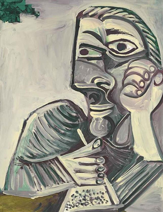 Chân dung tự họa của thiên tài Picasso - ảnh 9