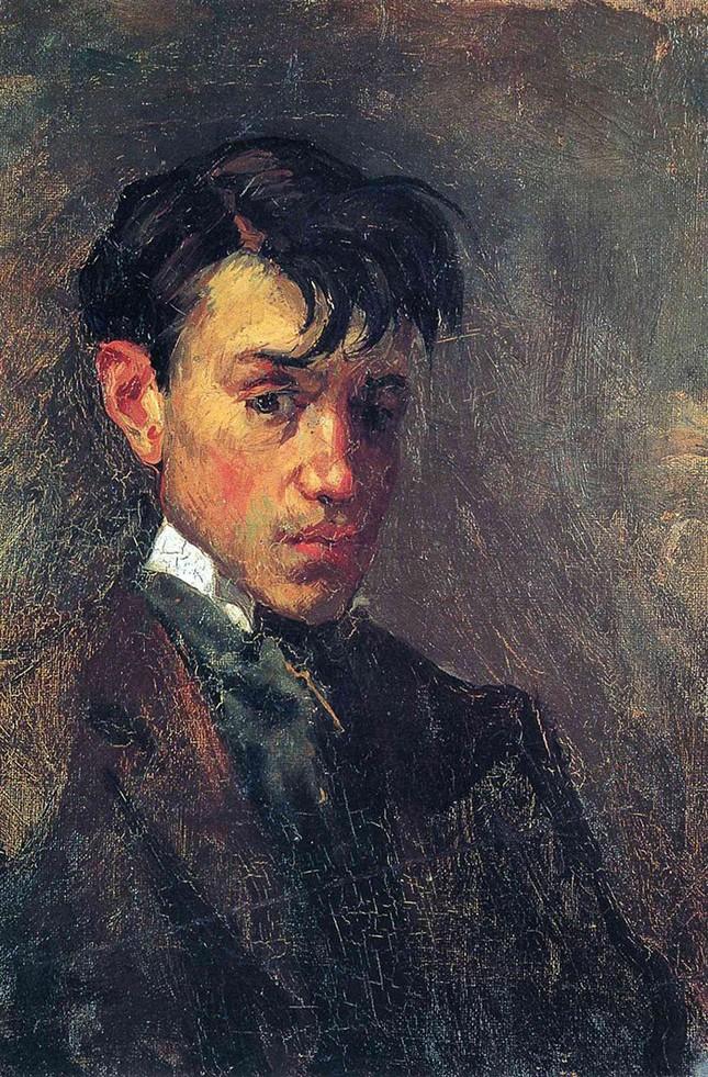 Chân dung tự họa của thiên tài Picasso - ảnh 1