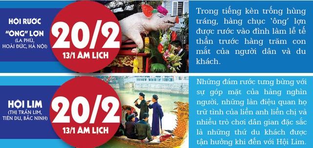 [Infographic] Tổng hợp các lễ hội Miền Bắc đầu năm mới - ảnh 4