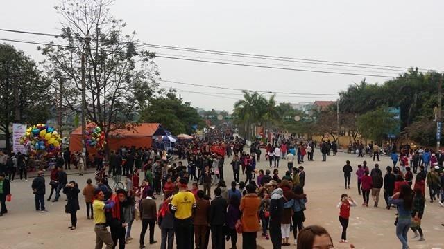 Không khí rộn ràng của Hội Lim trước giờ khai mạc - ảnh 1