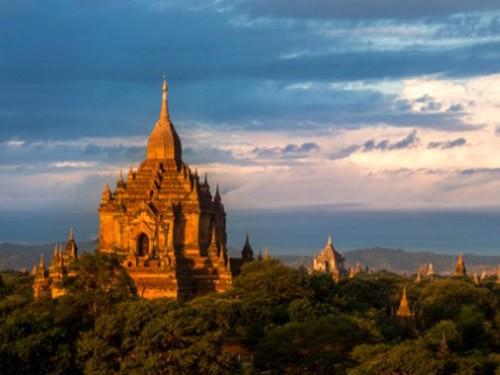Vẻ đẹp và sự bí ẩn của thành phố cổ Bagan - ảnh 1