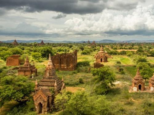 Vẻ đẹp và sự bí ẩn của thành phố cổ Bagan - ảnh 3