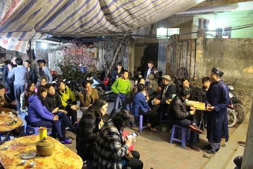 Hội Lim: Liền anh, liền chị hát canh tại gia đến 3, 4 giờ sáng - ảnh 4