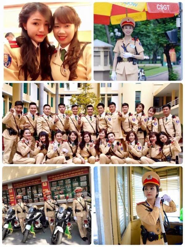 Ngất ngây với vẻ đẹp của nữ cảnh sát giao thông Việt Nam - ảnh 6