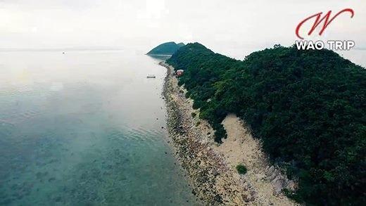 Cận cảnh hòn đảo có lối di giữa biển duy nhất ở Việt Nam - ảnh 2