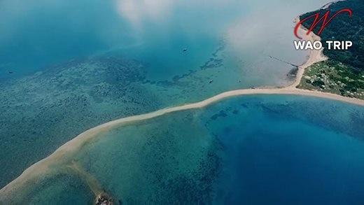 Cận cảnh hòn đảo có lối di giữa biển duy nhất ở Việt Nam - ảnh 3
