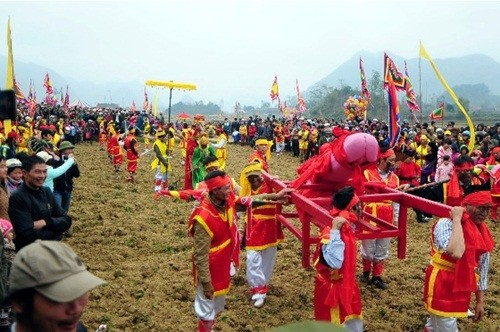 Lễ hội 'rước của quý' độc đáo có '1-0-2' ở Việt Nam - ảnh 3