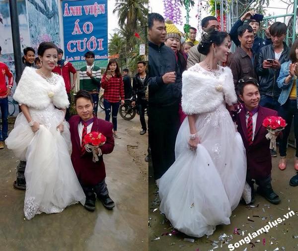 Đám cưới 'nàng Bạch Tuyết và chú lùn' khiến dân mạng dậy sóng - ảnh 1