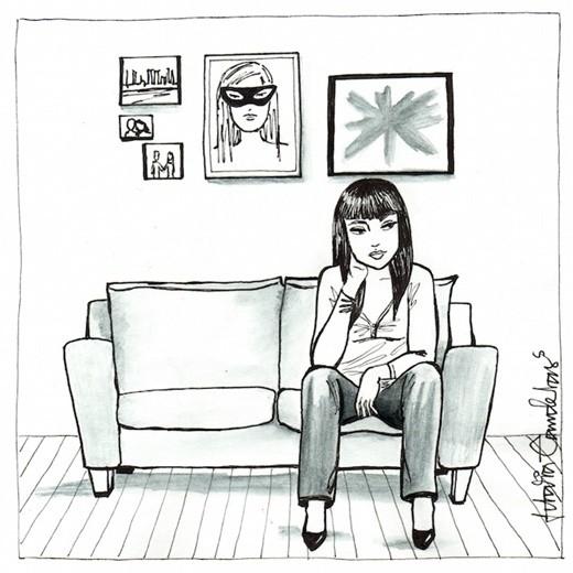 Con gái sống một mình thì cũng... chả có gì ầm ĩ - ảnh 2