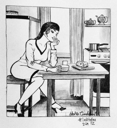 Con gái sống một mình thì cũng... chả có gì ầm ĩ - ảnh 4