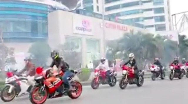 Dàn siêu xe, mô tô 'khủng' đi ăn hỏi gây 'náo loạn' phố Hải Phòng - ảnh 1