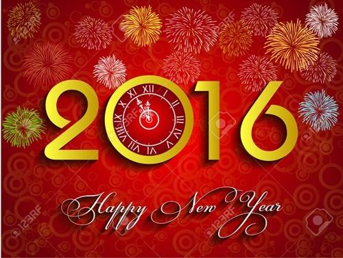 Những hình ảnh chúc mừng năm mới 2016 ấn tượng nhất - ảnh 8