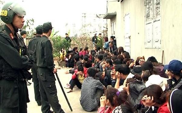 Xác định nhóm cầm đầu sới bạc 'khủng' ở Quảng Ninh - ảnh 1