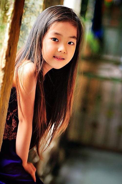Dân mạng 'chết mê' vì nhan sắc 'hoa hậu' của bé gái Hải Dương  - ảnh 4