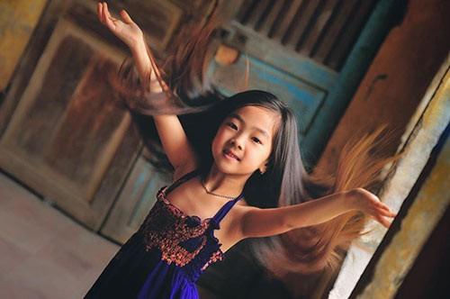 Dân mạng 'chết mê' vì nhan sắc 'hoa hậu' của bé gái Hải Dương  - ảnh 5