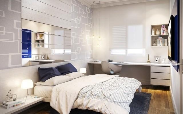 Nên kê giường ngủ sát góc phòng hay giữa phòng? - ảnh 2