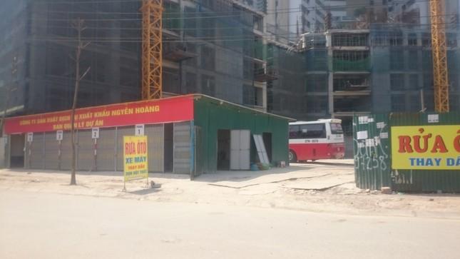Biến đất dự án thành bãi đỗ xe 'chui' ở Mỹ Đình? - ảnh 2