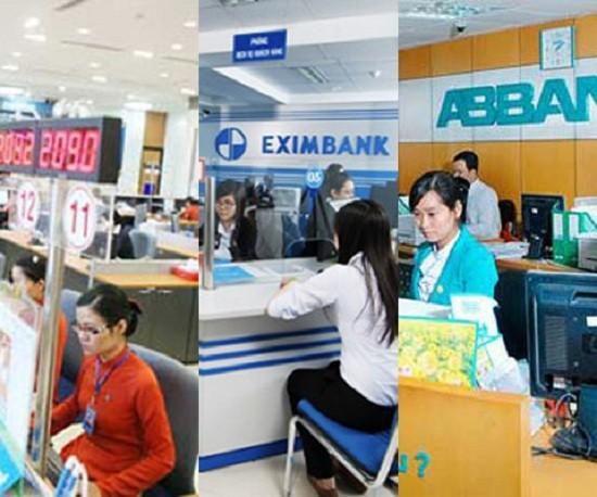 Vì sao Eximbank, Sacombank và ABBank thua lỗ? - ảnh 1