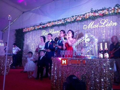 Choáng ngợp đám cưới siêu khủng của con đại gia Hà Tĩnh-Bắc Ninh - ảnh 3